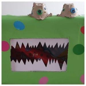 Sinterklaas surprise ideeën monster