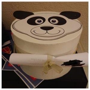 surprise panda