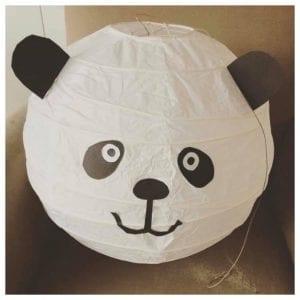 surprise panda van lamp