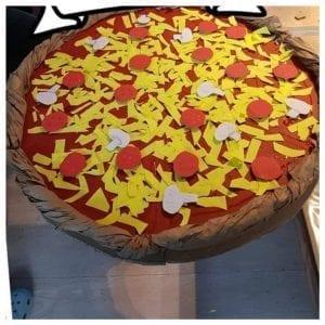 Sinterklaas surprise ideeën pizza