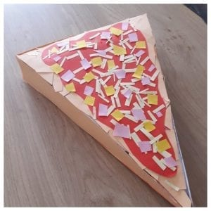 surprise pizza slice