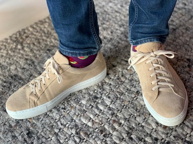 happy socks in schoenen