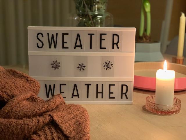 leuke winter quotes sweater weather