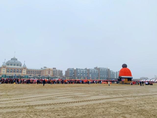 strand vol oranje unox mutsen