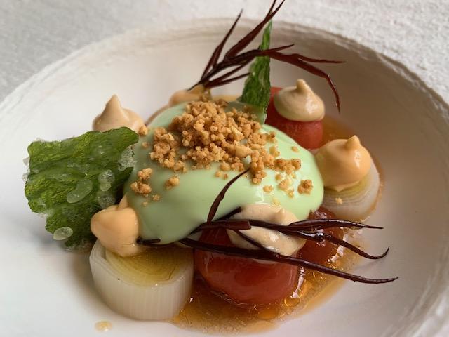 Mijn ervaring met restaurant Tommy's & Zuurveen vegetarisch gerechtje