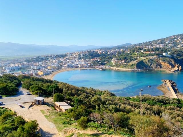 Tabarka genuese fort viewpoint Noord-Tunesië