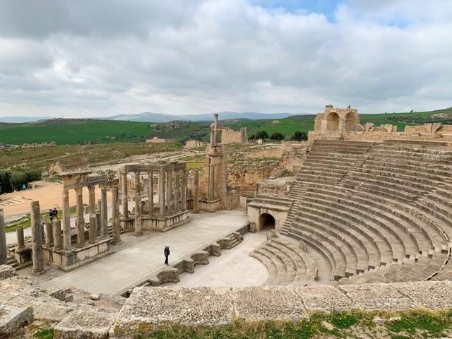 Noord-Tunesië amfitheater dougga