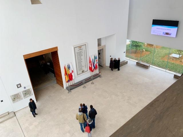 centrale hal bardo museum van bovenaf