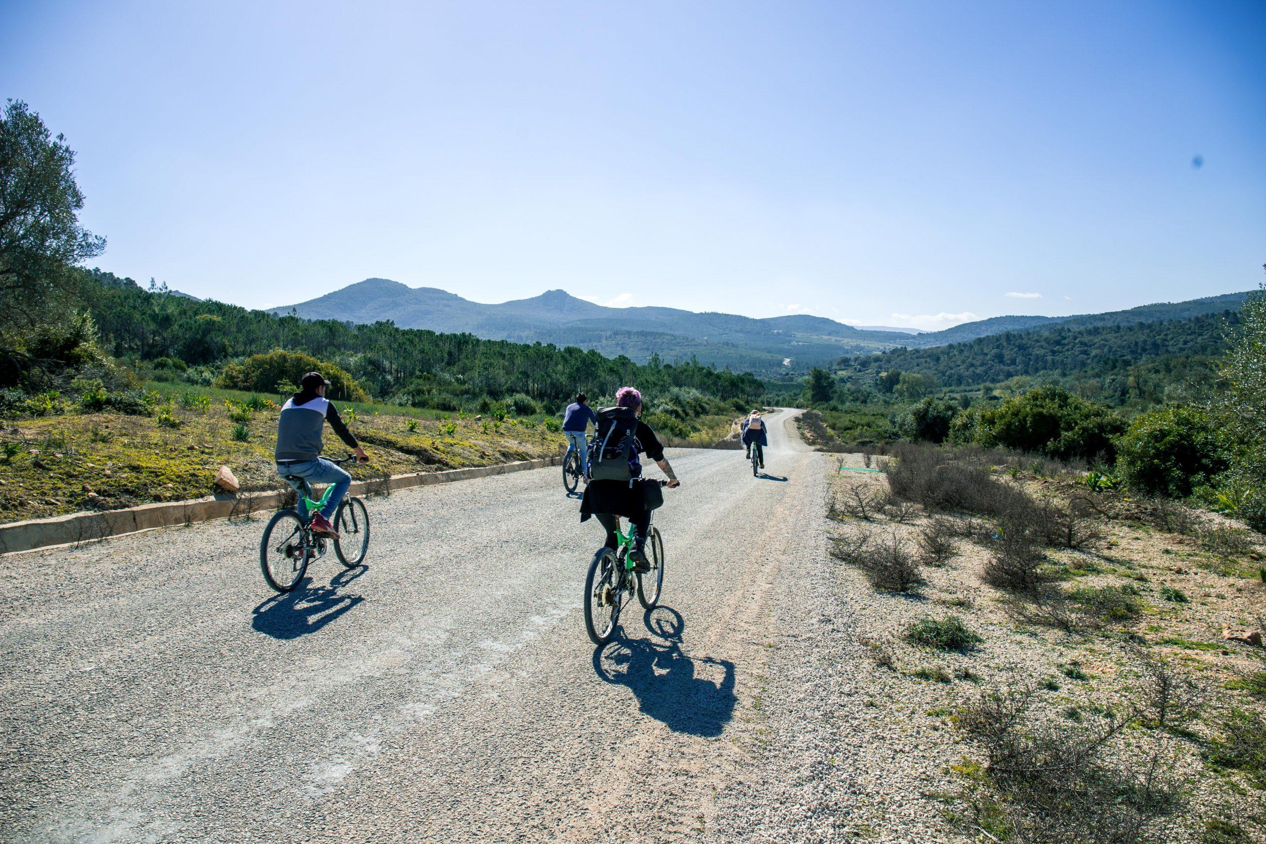 fietstocht noord tunesie