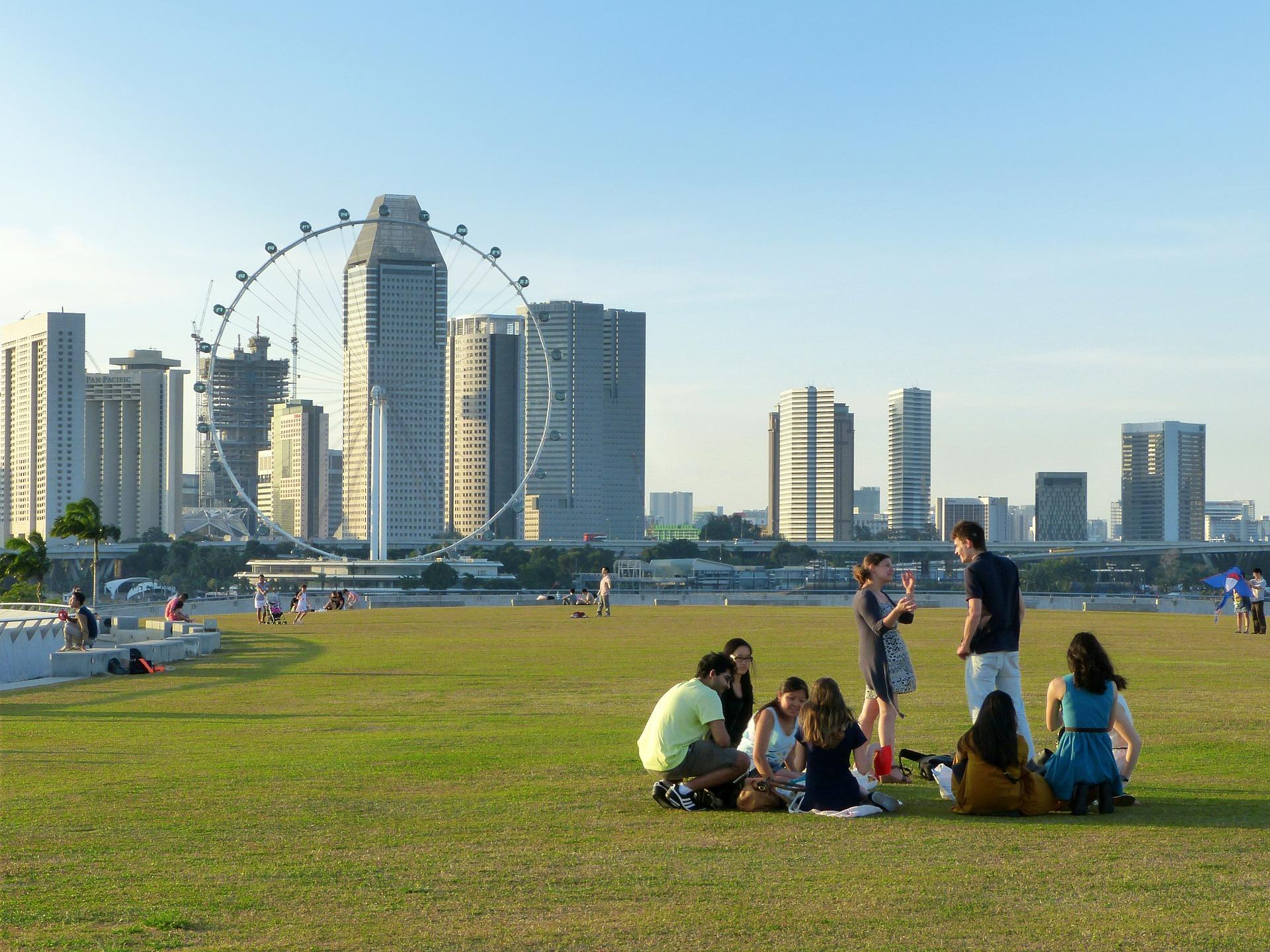 Singapore flyer reuzenrad