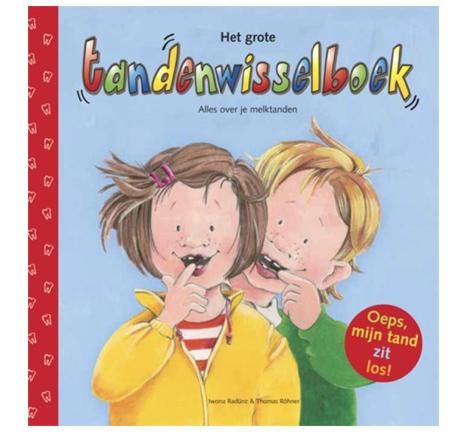 Boeken over tandenwisselen Het grote tandenwisselboek