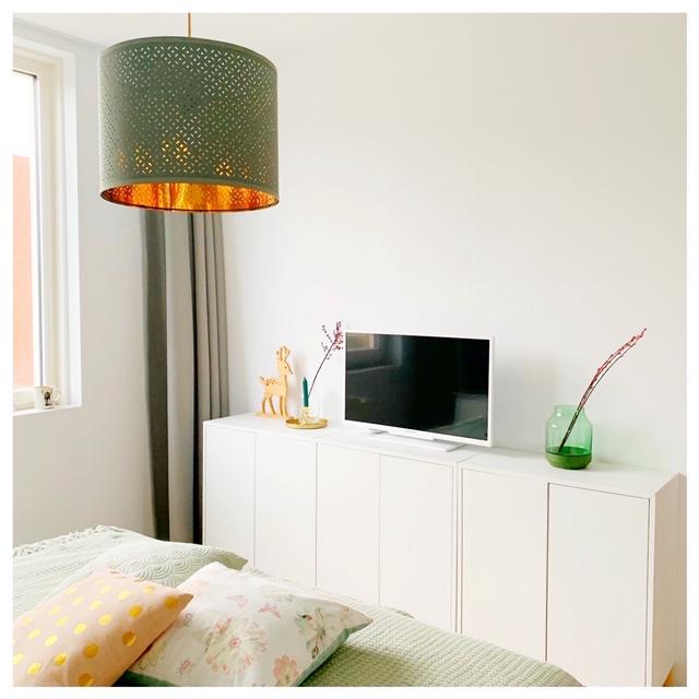 tv meubel slaapkamer stylen