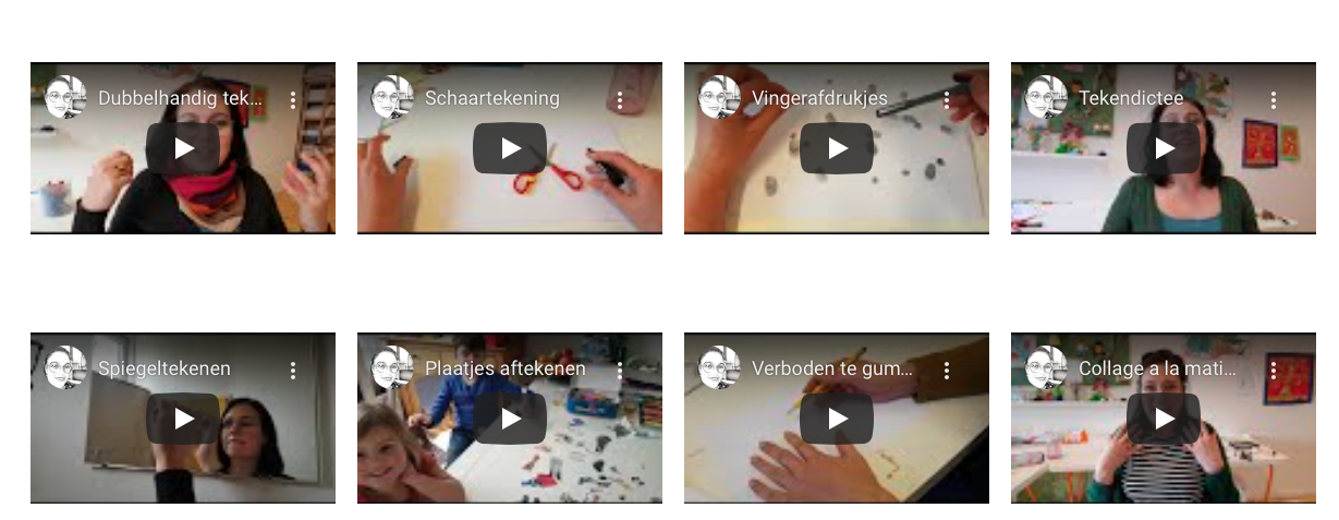 Online activiteiten voor kinderen tijdens de Corona lockdown Studio kunstig