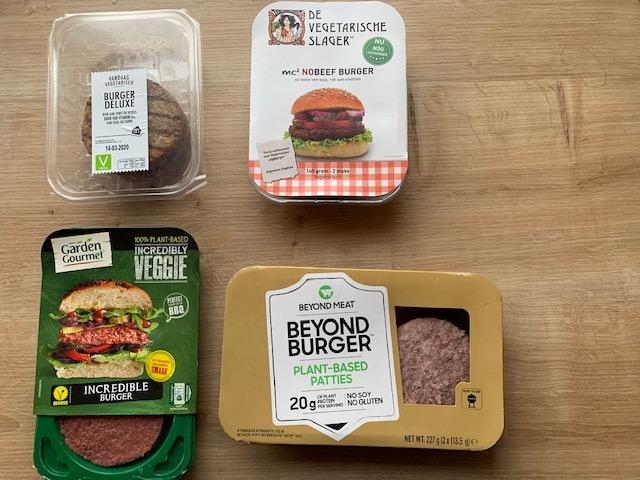 Vegetarische hamburgers test