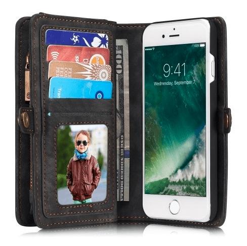 telefoonhoesje met ruimte voor pasjes en portemonnee vak