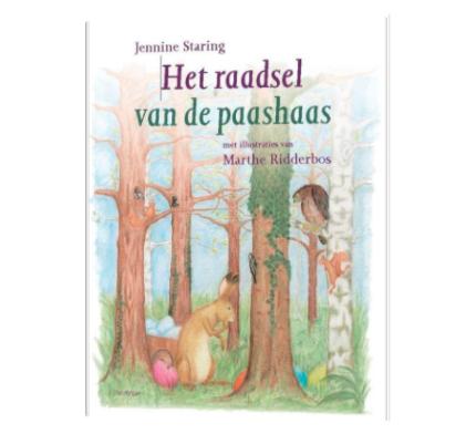 Prentenboeken over Pasen het raadsel van de paashaas