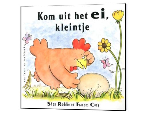 Prentenboeken over Pasen kom uit je ei kleintje
