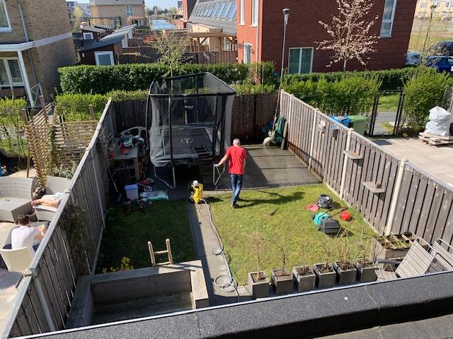 maik maakt tuin zomerklaar april 2020