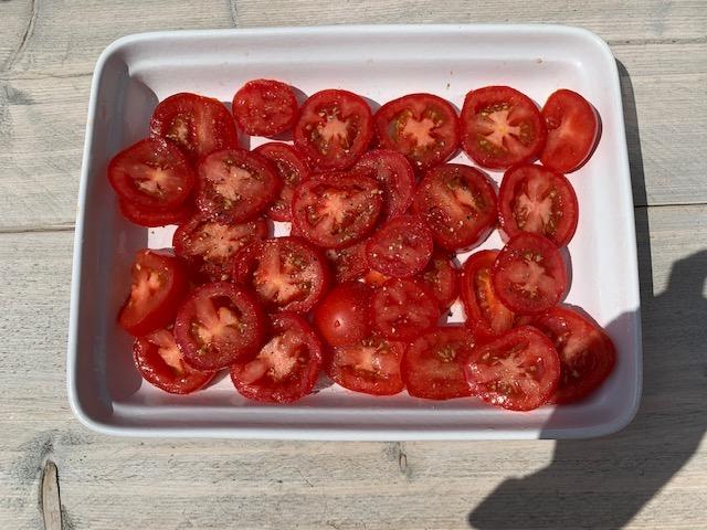 Ovenschaal tomaten