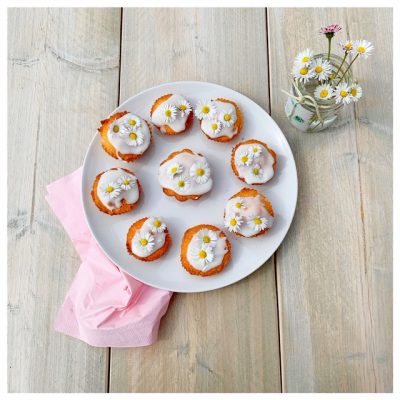 madeliefjes cupcakes mei