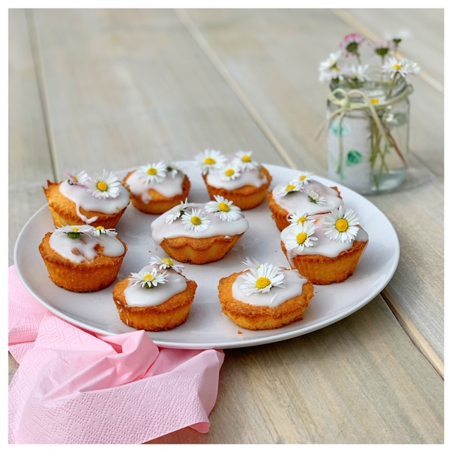 madeliefjes cupcakes
