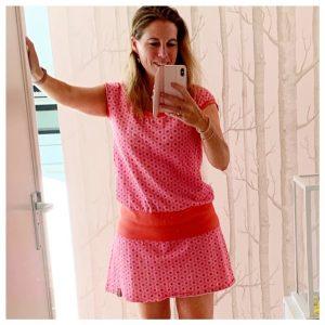 juut roze jurk mei 2020