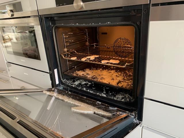 oven binnenglas geknapt juni 2020 siemens oven