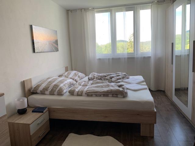 bed airbnb kyslov