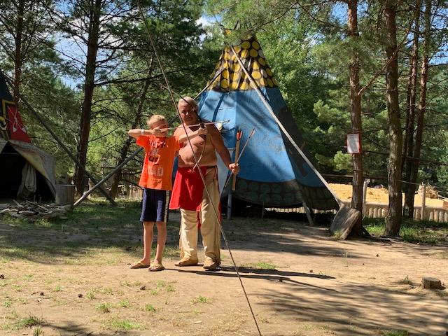 boskovice western park yuren boogschieten