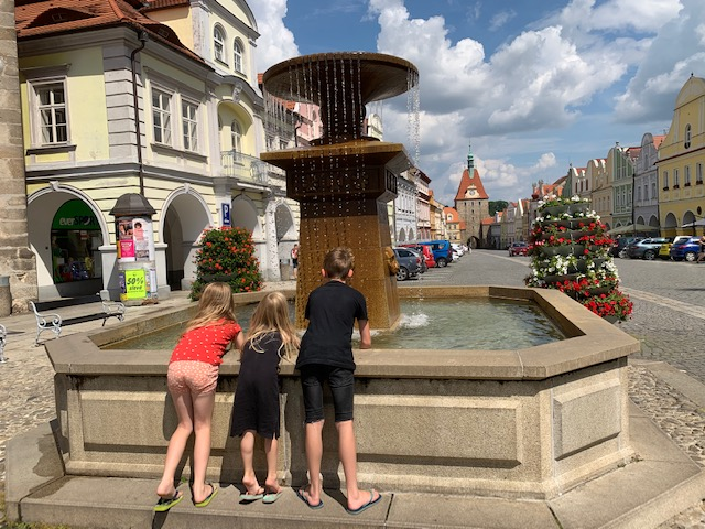 domazlice fontein