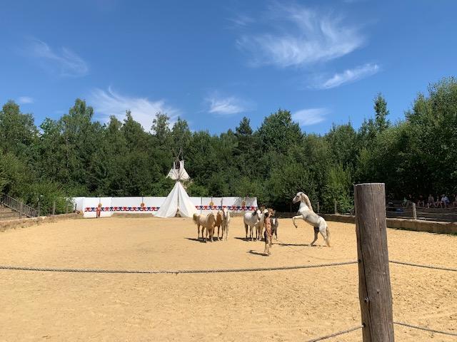 paardenshow westernpark boskovice