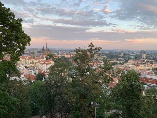 view brno spilberg kasteel
