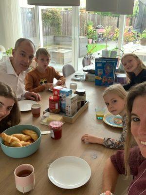 ontbijtje laatste vakantiedag zomer 2020