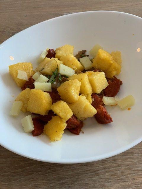 spaanse polenta manchego
