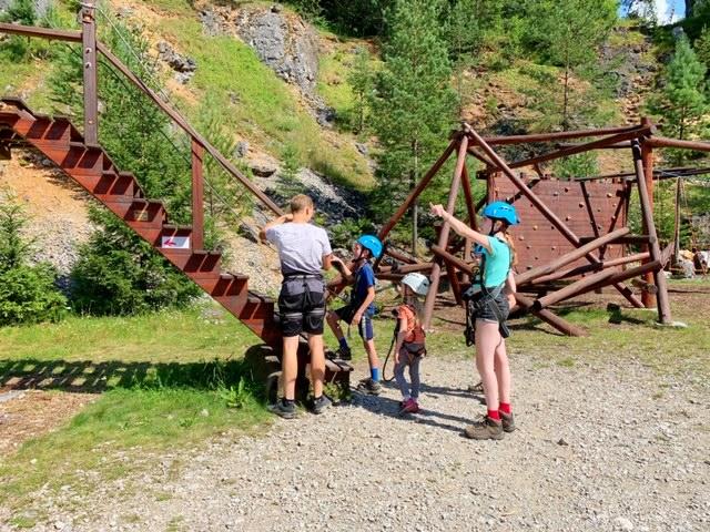 uitleg klimpark tsjechie