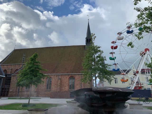 De Elfsteden fonteinen en de elf fonteinen route fontein dokkum