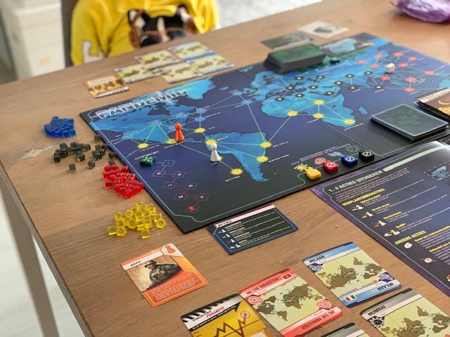 Pandemic bordspel review spelen