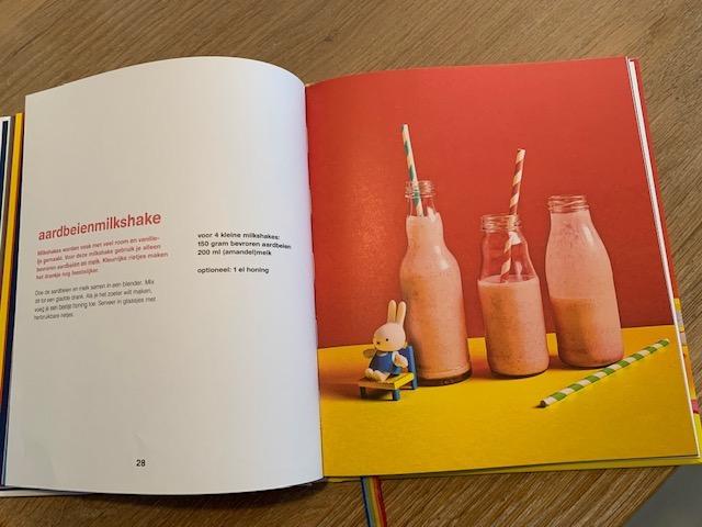 aardbeien milkshake traktatie