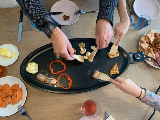 chefs table grillplaat princess