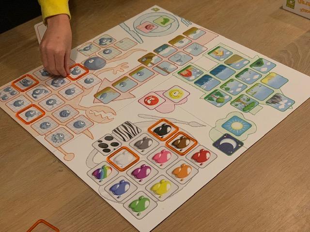 leuk spel concept kids dieren