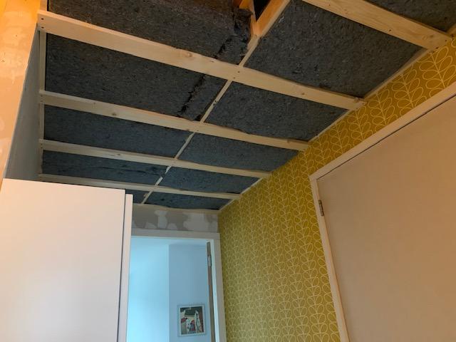 plafond overloop boven
