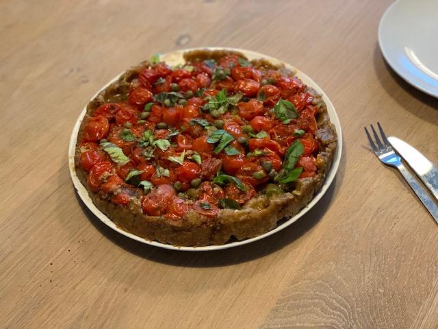 tomaten tarte tatin recep