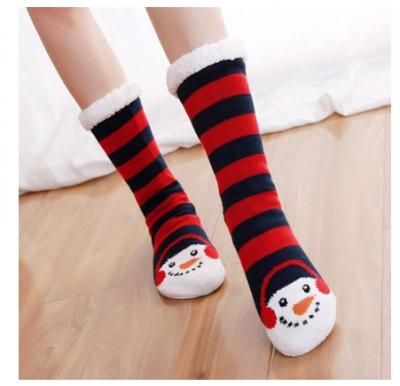 dikke sokken sneeuwpop