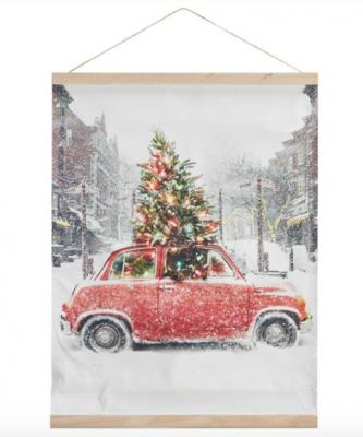 kerstboom poster kwantum