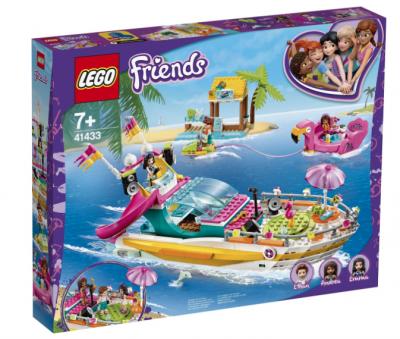 lego friends feestboot