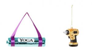 yogamatje kerstbal