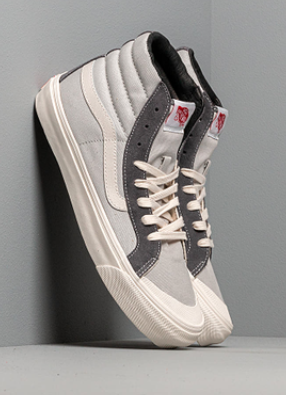 Vans OG Style 138 LX (Suede: Canvas) Pearl Gray: Multi