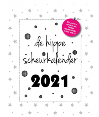 Scheurkalenders voor het nieuwe jaar de hippe scheurkalender