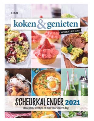 Scheurkalenders voor het nieuwe jaar koken en genieten scheurkalender