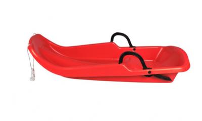 bobslee rood met rem en stabiel